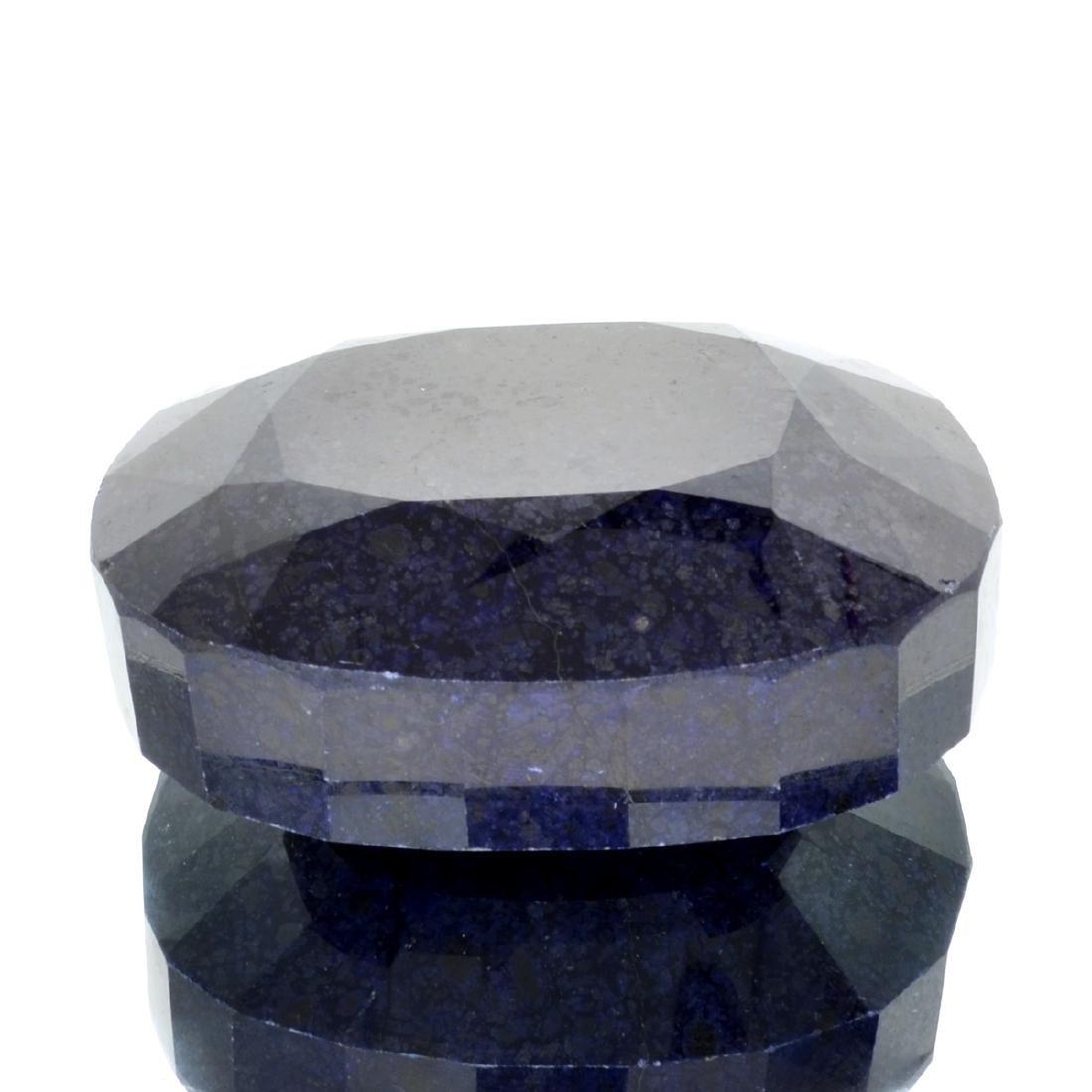 APP: 7.7k 3,090.10CT Oval Cut Dark Blue Sapphire