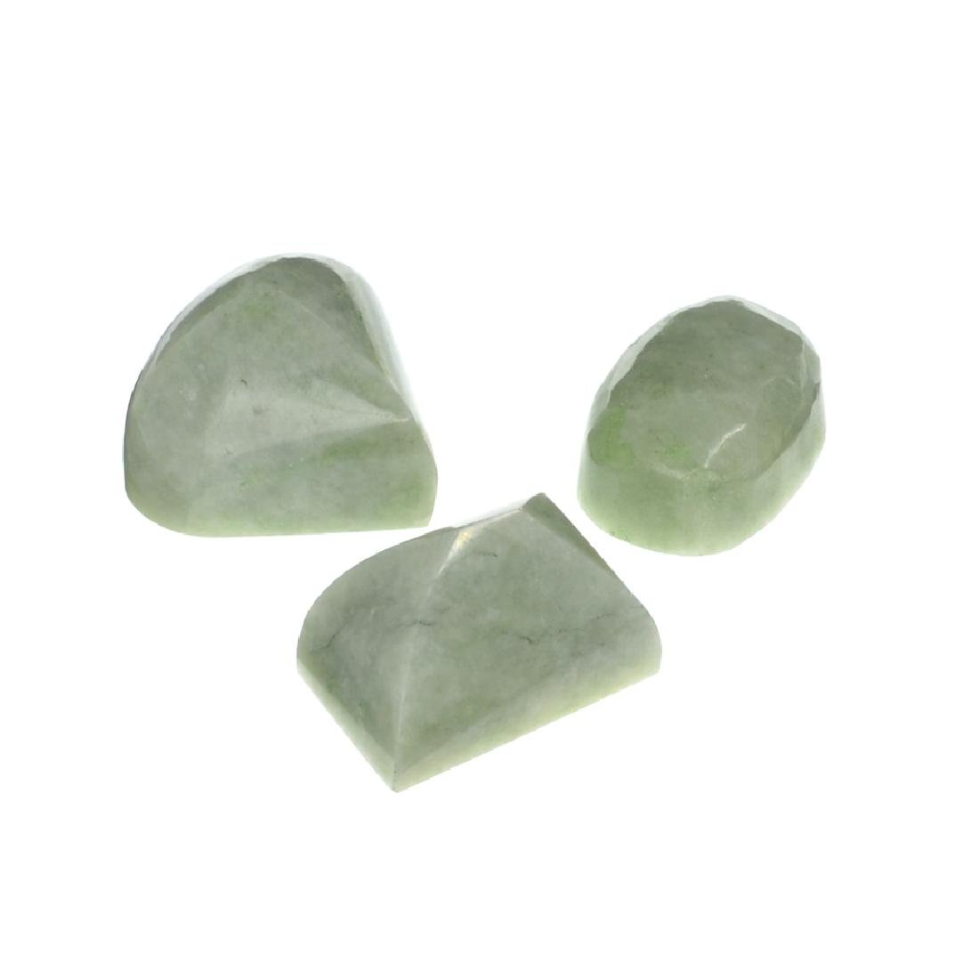 APP: 1.6k 201.92CT Various Shapes And sizes Nephrite
