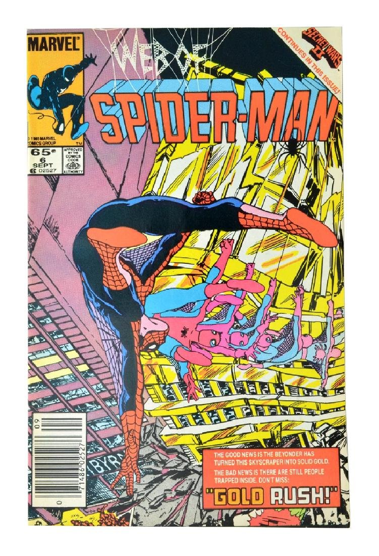 Web of Spider-Man (1985 1st Series) Issue #6