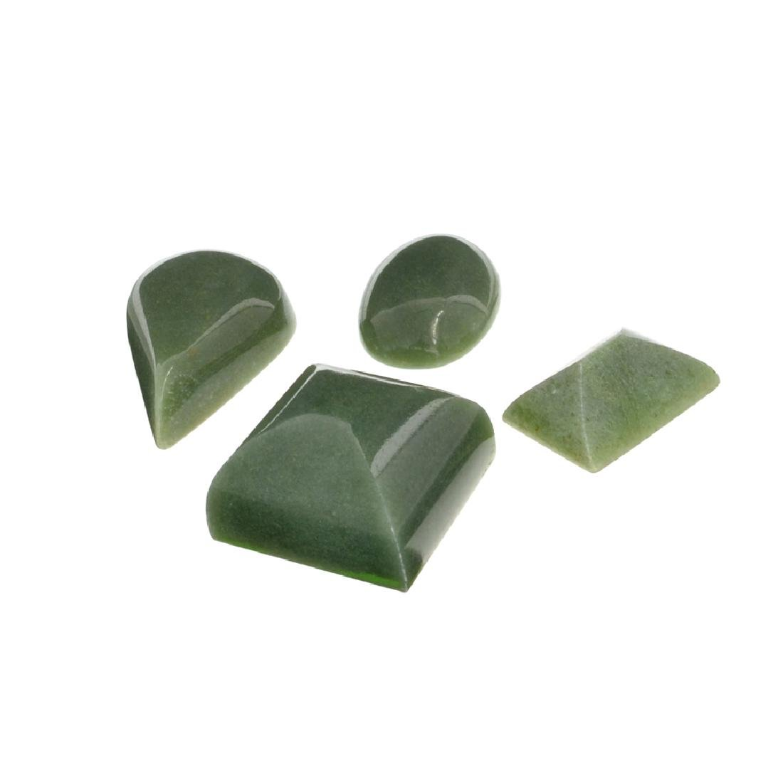 APP: 1.6k 204.88CT Various Shapes And sizes Nephrite