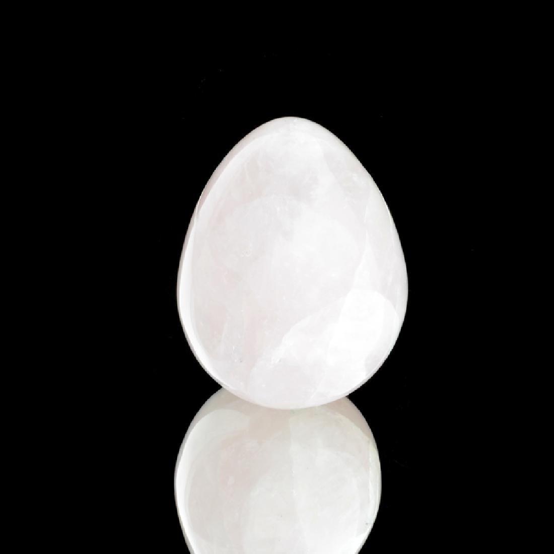 APP: 0.4k Rare 723.50CT Pear Cut Rose Quartz Gemstone