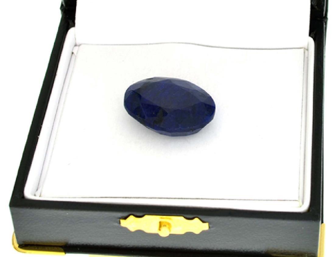 APP: 1.7k 33.32CT Oval Cut Blue Sapphire Gemstone