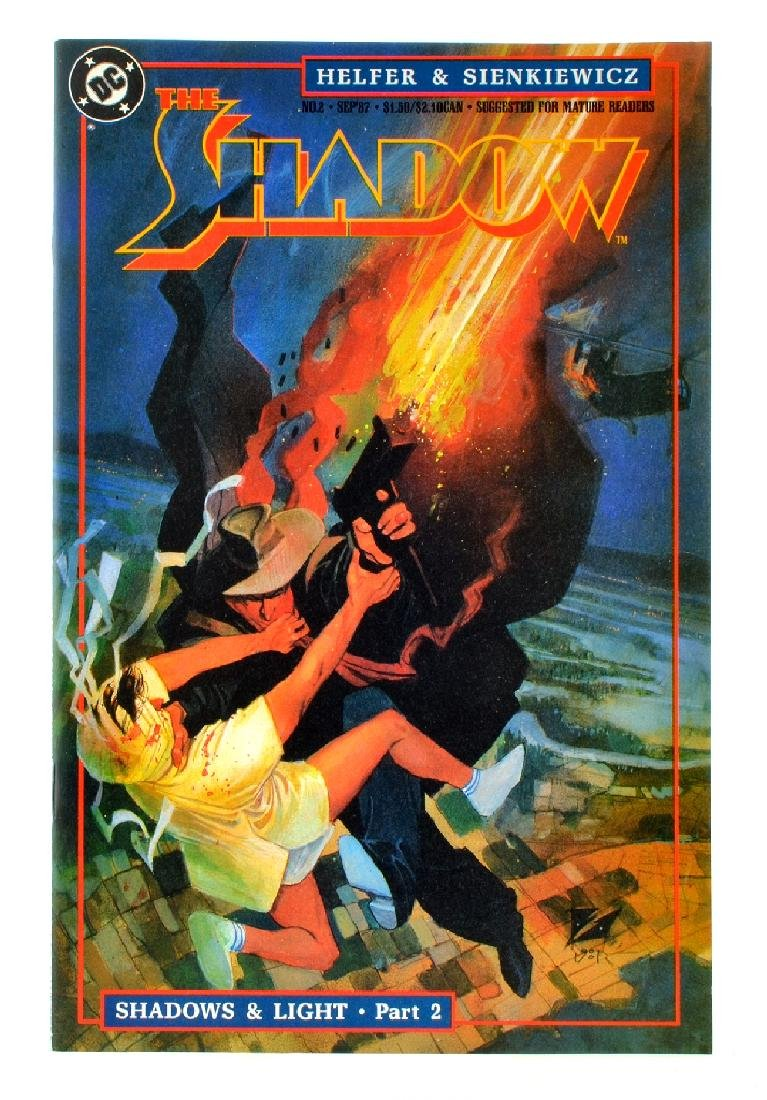 Shadow (1987 2nd Series DC) Issue 2