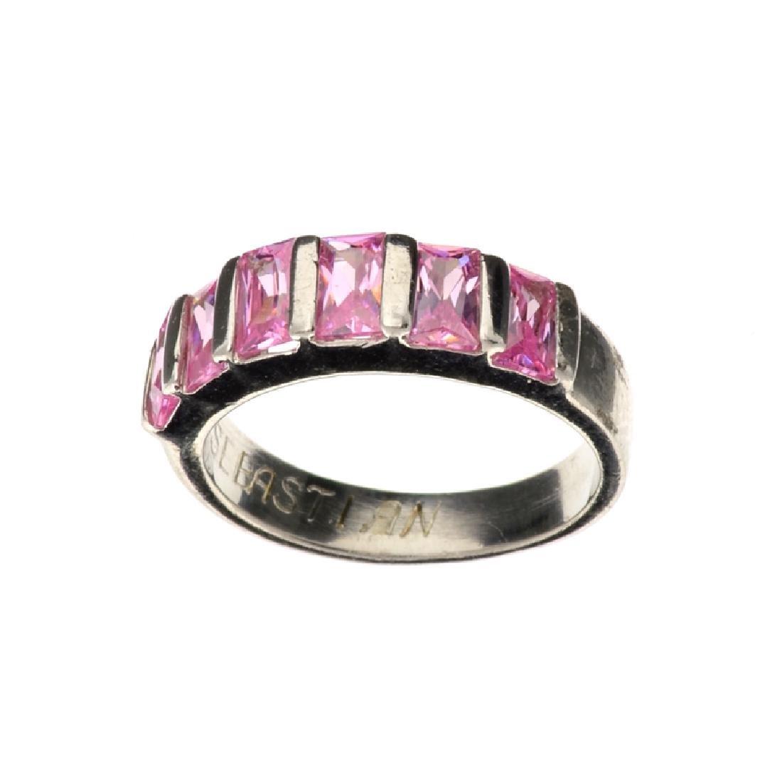 Fine Jewelry 1.00CT Rectangel Cut Swiss Cubic Zirconia