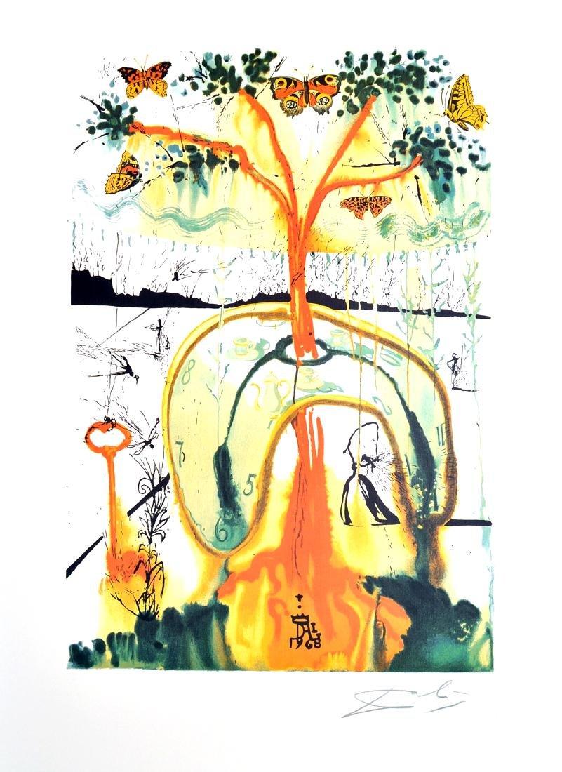 SALVADOR DALI (After) A Mad Tea Party Print, 288 of 500