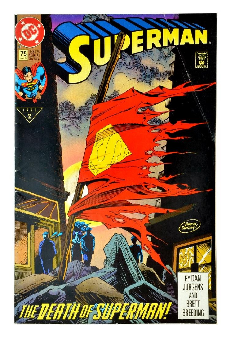 Superman (1987 2nd Series) Issue #75