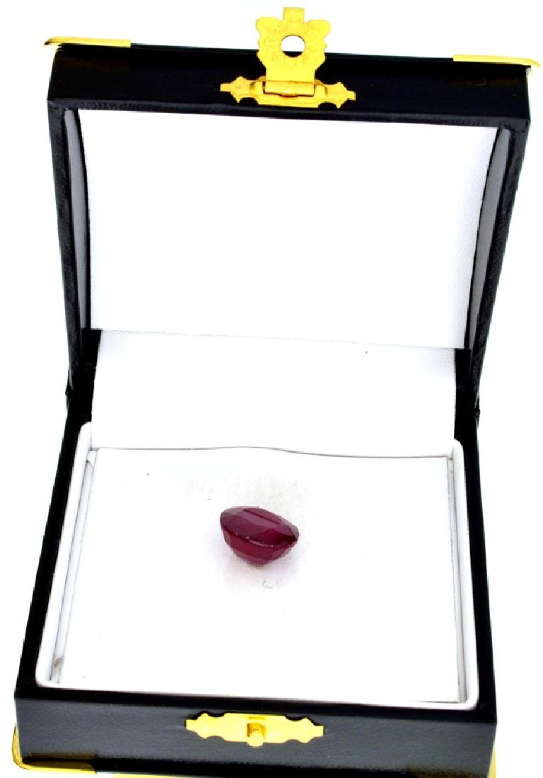 APP: 3k 11.60CT Cushion Cut Ruby Gemstone