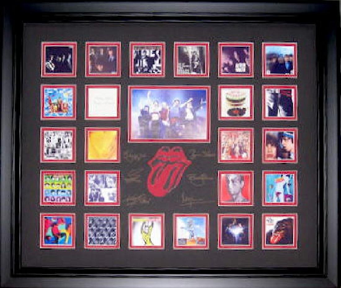 Rolling Stones Album Covers - Engraved Signatures