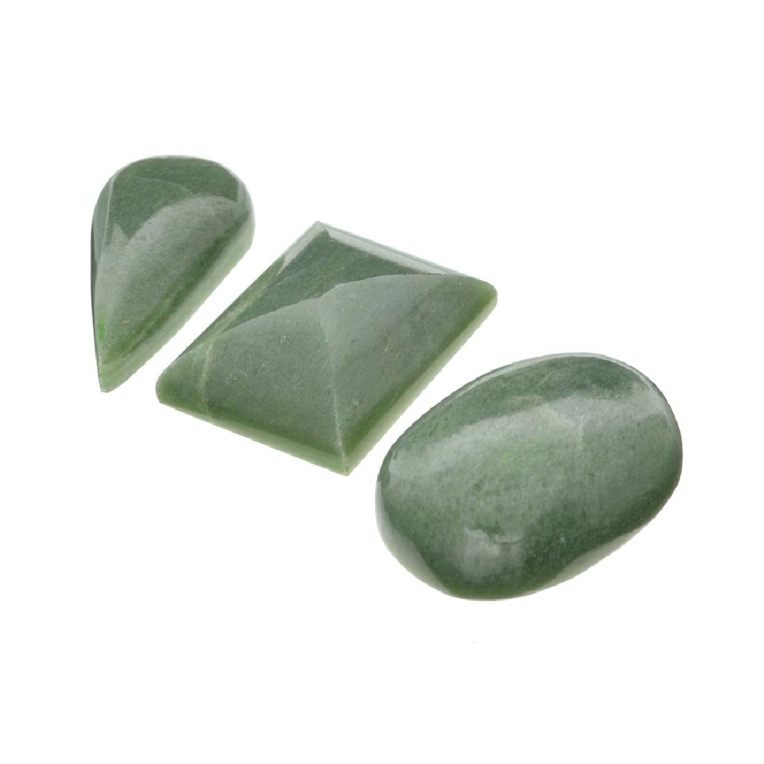 APP: 1.7k 210.49CT Various Shapes And sizes Nephrite