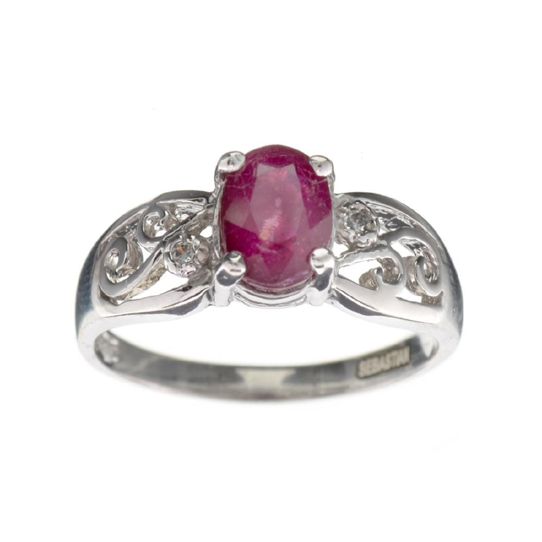 APP: 0.5k Fine Jewelry Designer Sebastian, 1.65CT Ruby