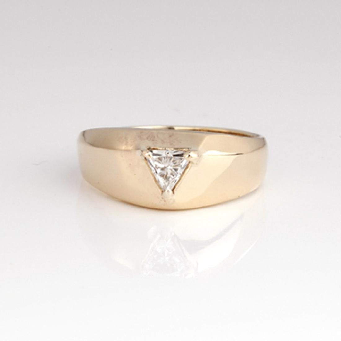 *Fine Jewelry 14 kt. Gold, New Custom Made 0.30CT