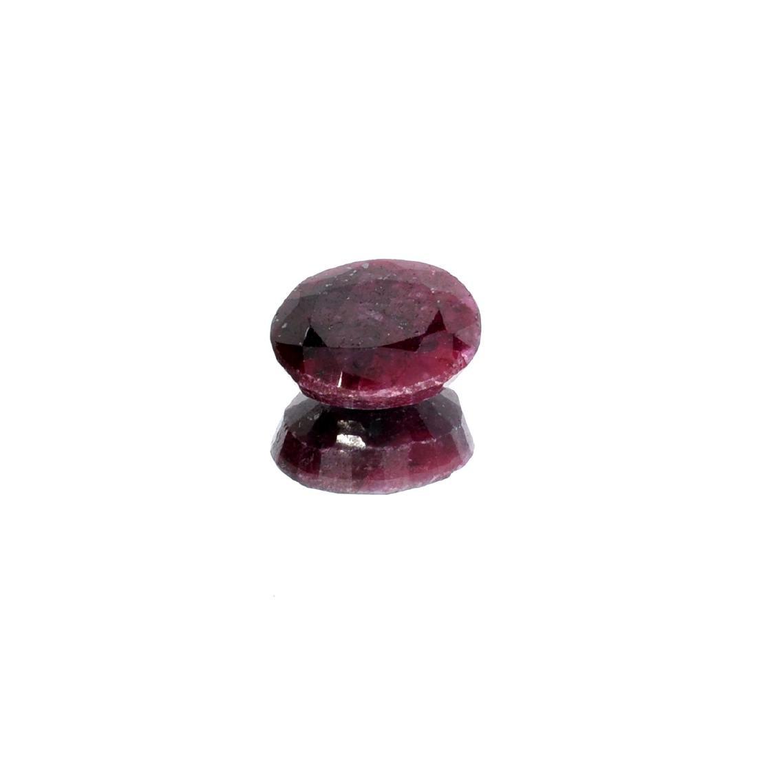 APP: 1.8k 24.08CT Oval Cut Ruby Gemstone