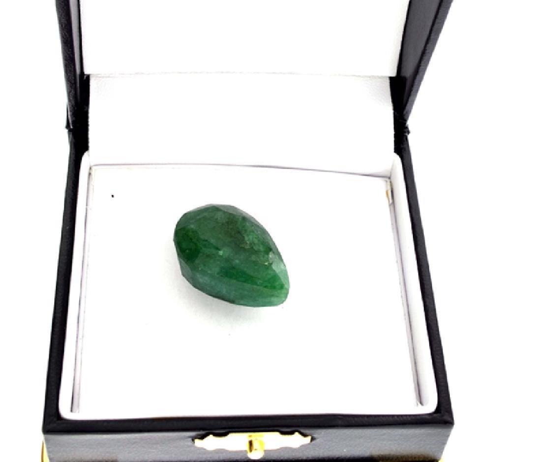 APP: 1.4k 39.55CT Pear Cut Green Beryl Emerald Gemstone