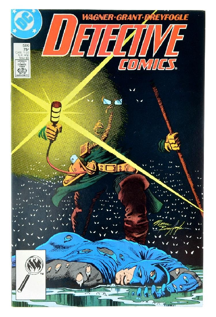 Detective Comics (1937 1st Series) Issue 586