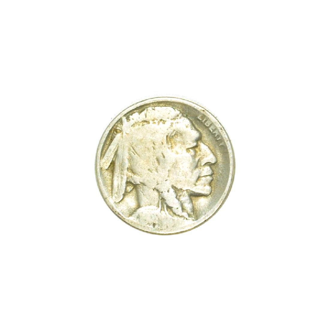 1918-D Rare Buffalo Nickel Coin