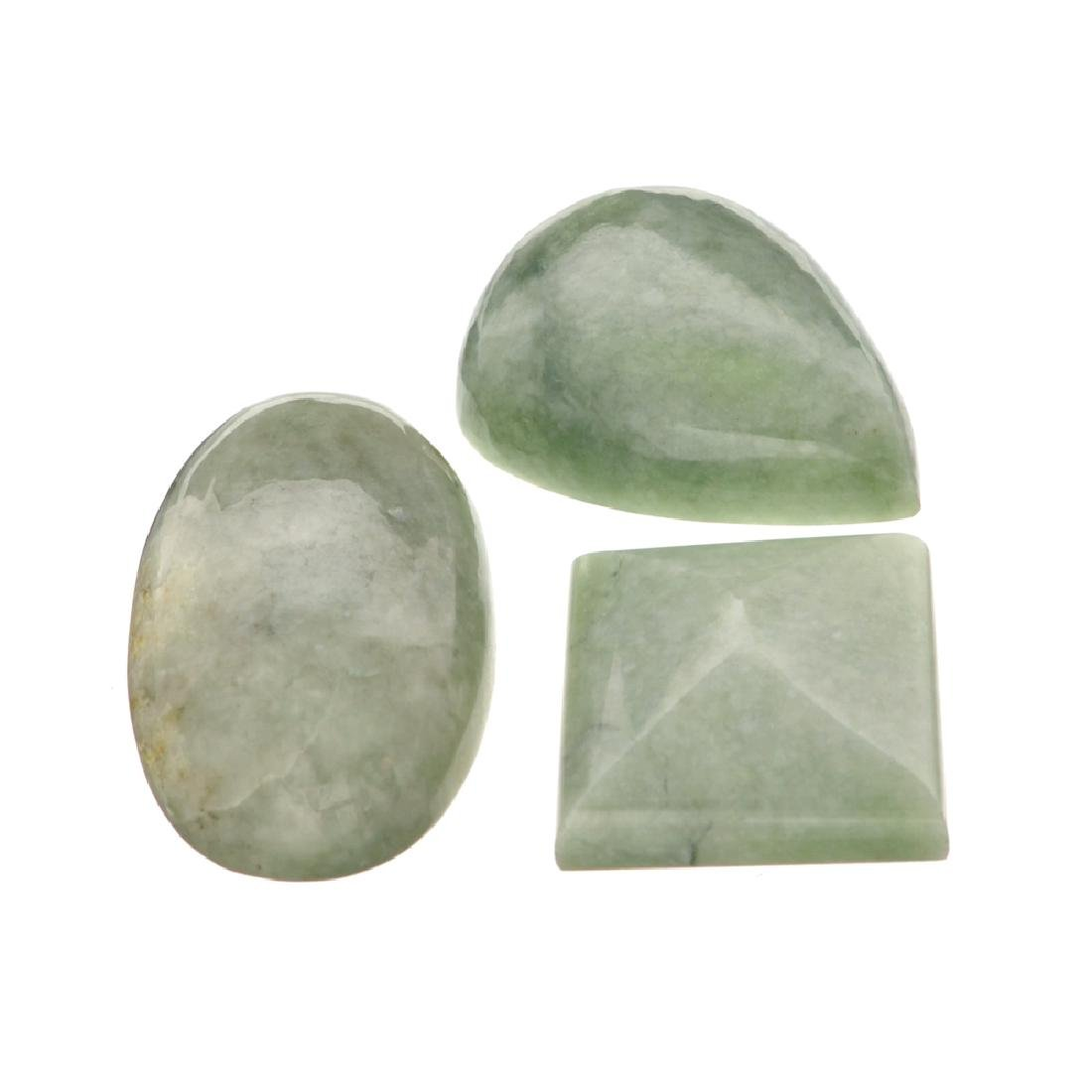APP: 1.7k 214.05CT Various Shapes And sizes Nephrite