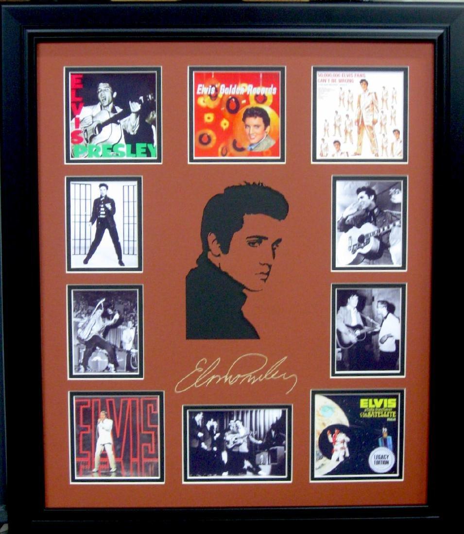Elvis Engraved Signature Laser Cut Mat