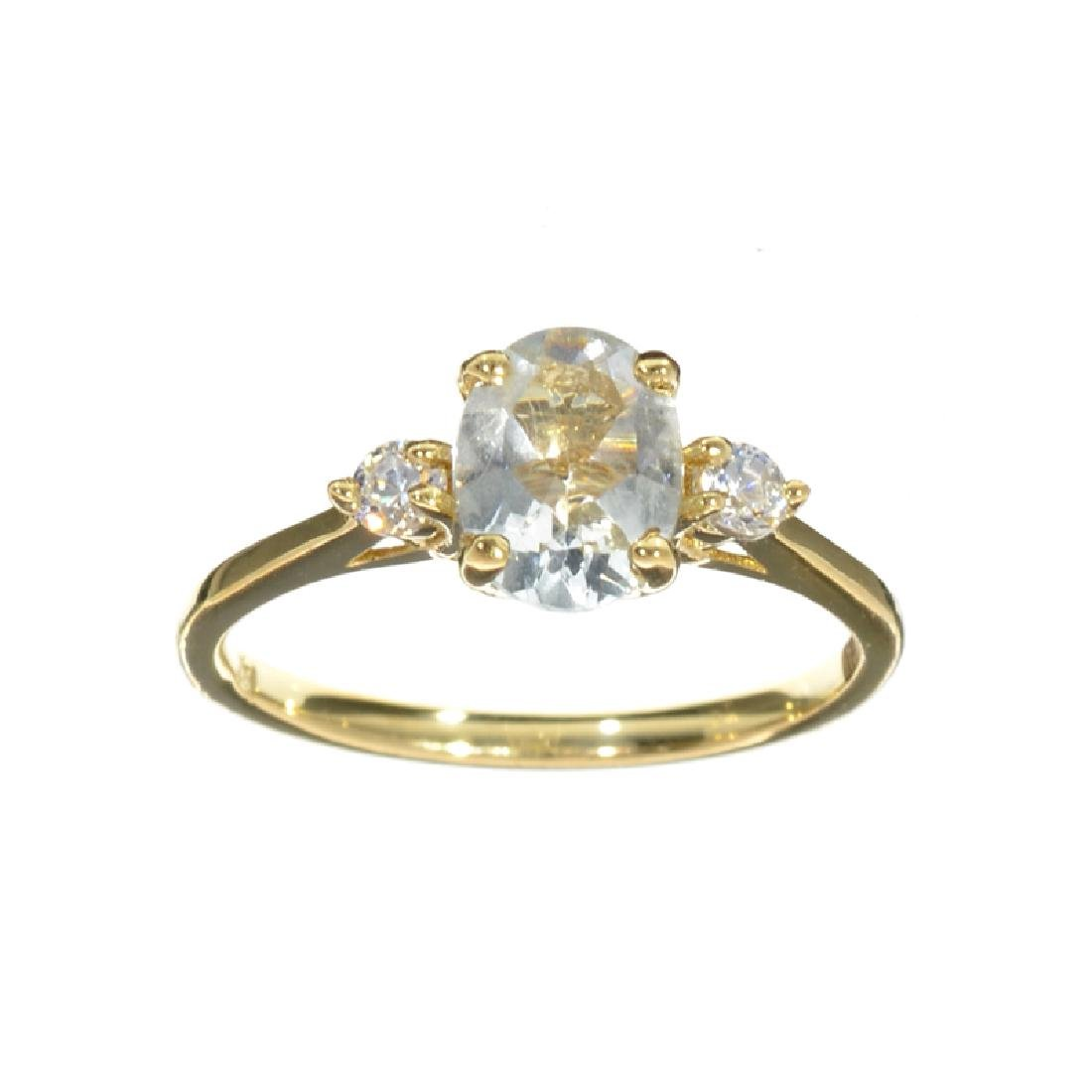 APP: 1.1k Fine Jewelry 14KT Gold, 1.20CT Blue