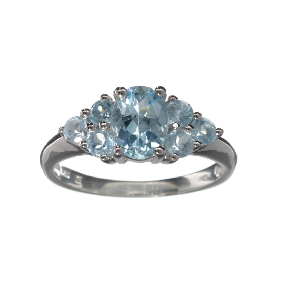 APP: 0.3k Fine Jewelry 2.38CT Topaz And Sterling Silver