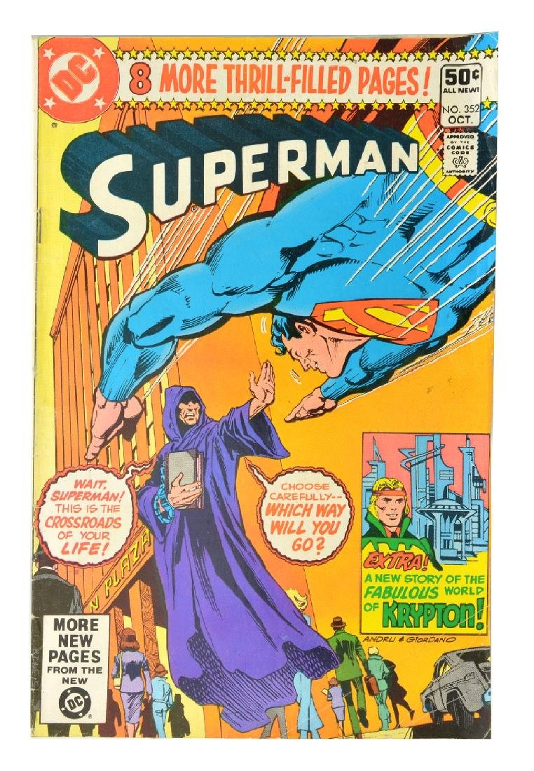 Superman (1939 1st Series) Issue #352