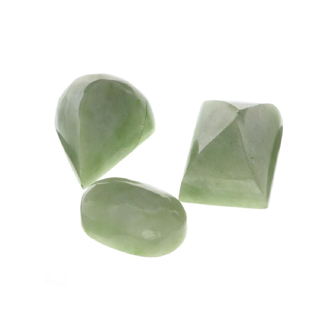 APP: 1.7k 211.49CT Various Shapes And sizes Nephrite