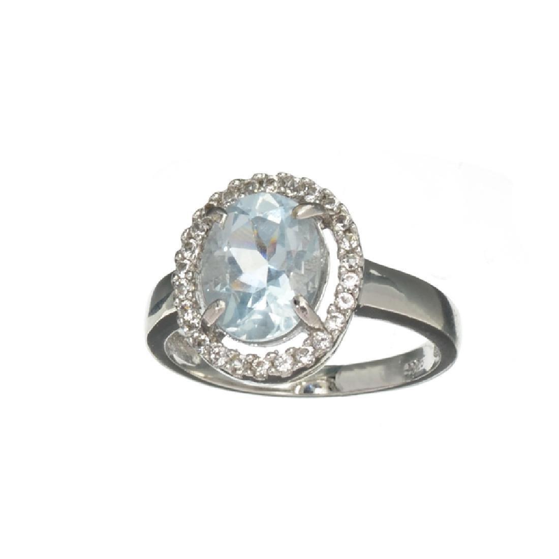 APP: 0.9k Fine Jewelry 1.30CT Oval Cut Aquamarine
