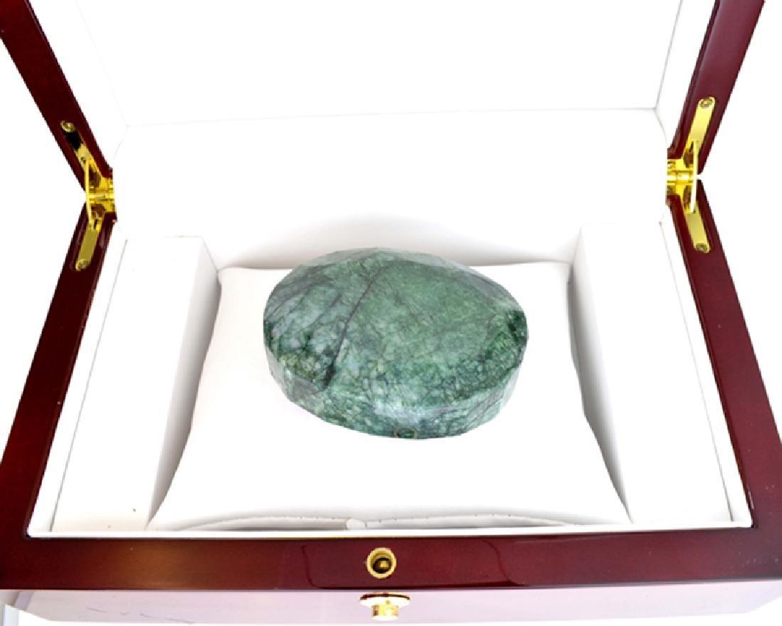 APP: 7k 879.45CT Oval Cut Green Beryl Emerald Gemstone