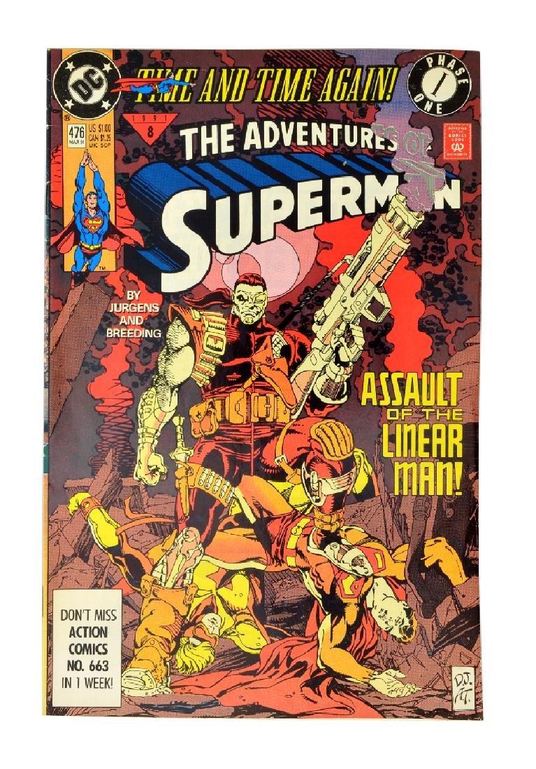 Adventures of Superman (1987) Issue #476