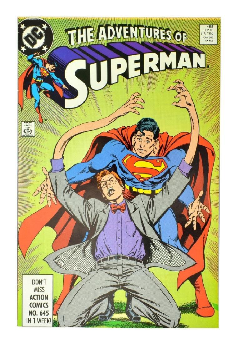 Adventures of Superman (1987) Issue #458
