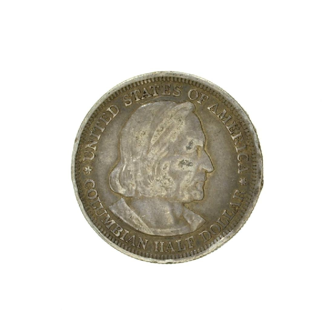 1893 Columbian Commemorative Half Dollar Coin