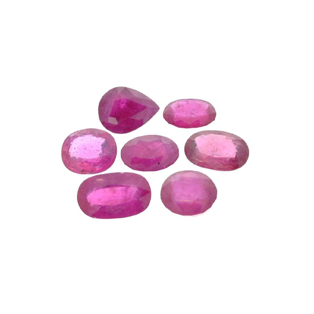 APP: 4.2k 25.22CT Oval / Pear Cut Ruby Parcel