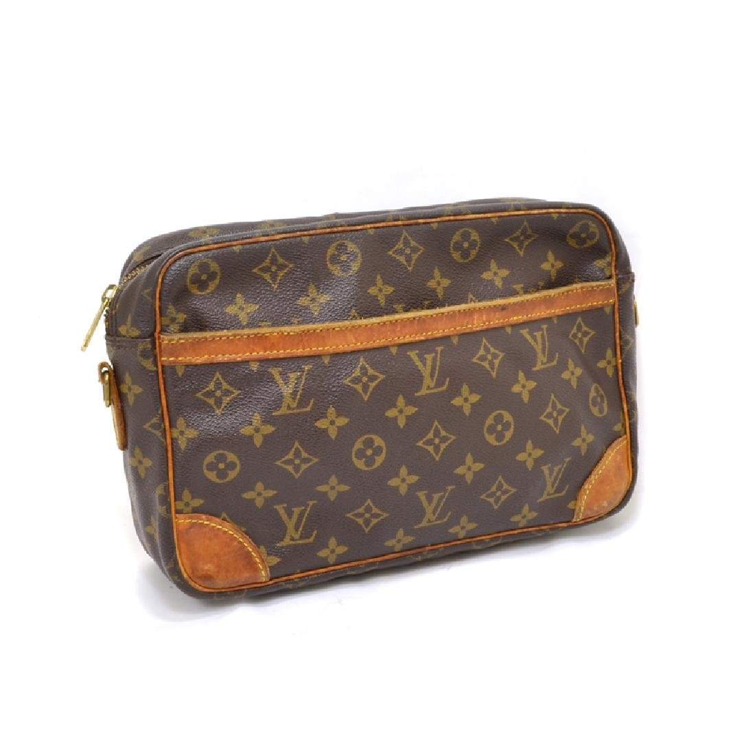 Rare Vintage Louis Vuitton Monogram Trocadero 30 Canvas