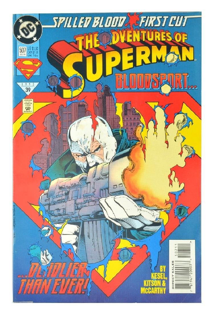 Adventures of Superman (1987) Issue #507