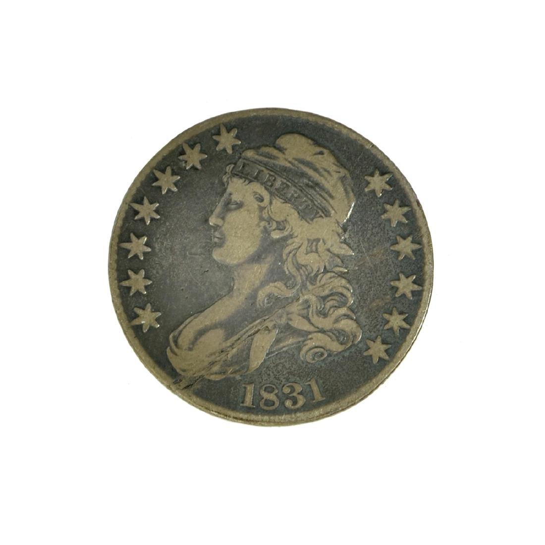 *1831 Capped Bust Half Dollar Coin (JG)