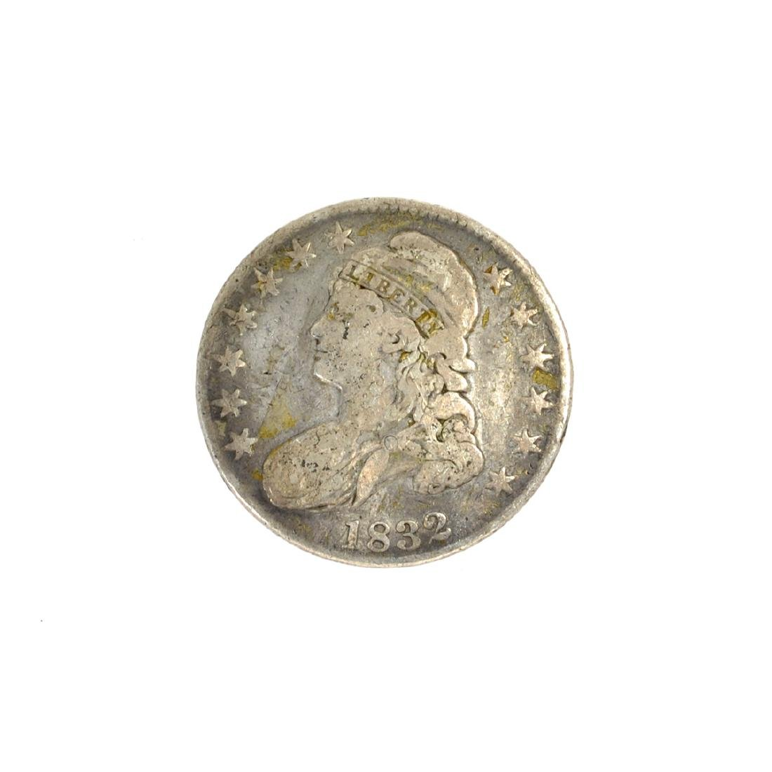 1832 Capped Bust Half Dollar Coin