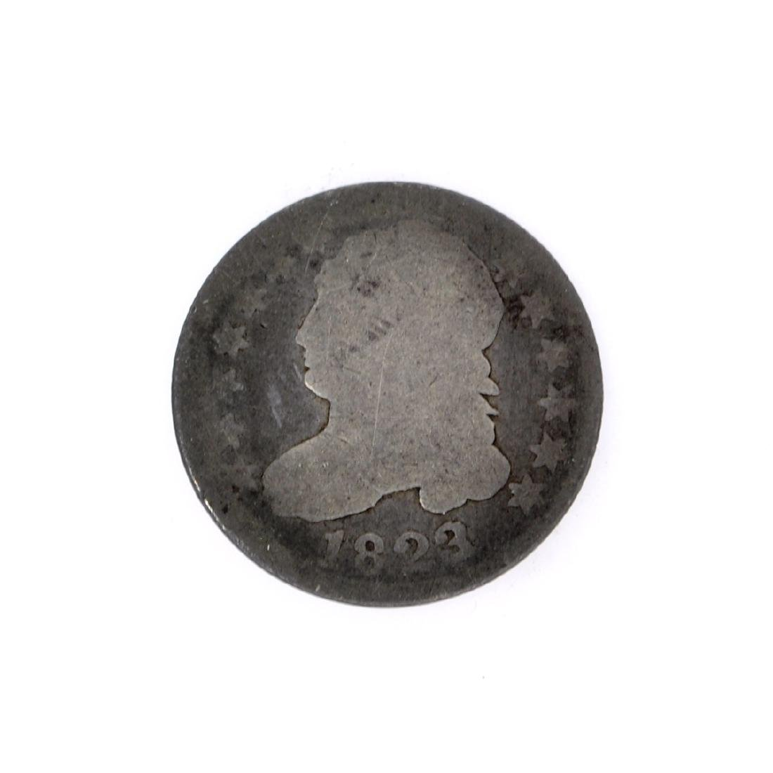 1823 Capped Bust Dime Coin