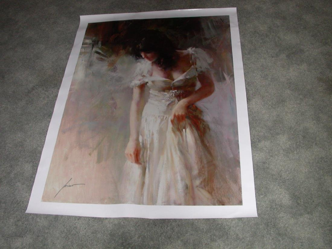 White Rhapsody' by Pino Hand Signed and Numbered 30x40
