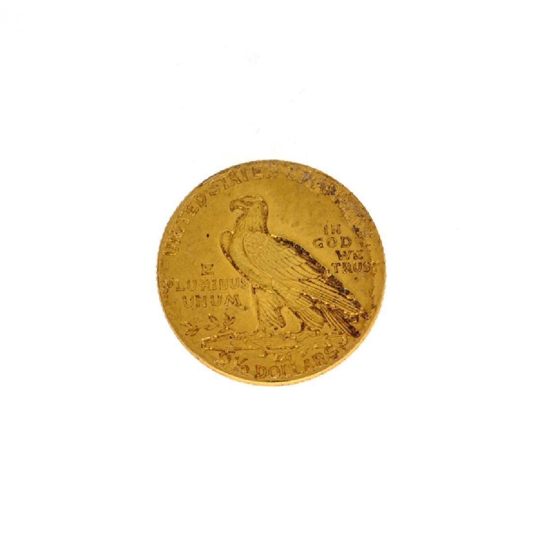 *1927 $2.50 U.S. Indian Head Gold Coin (DF) - 2