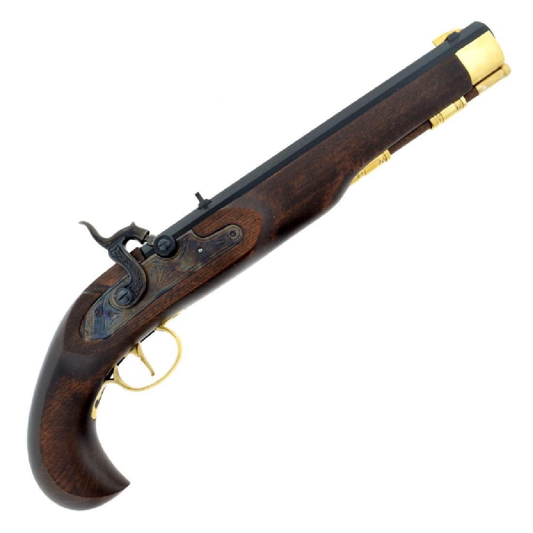 P1060 Kentucky Pistol .50 Cal Blued Barrel Blade Sights