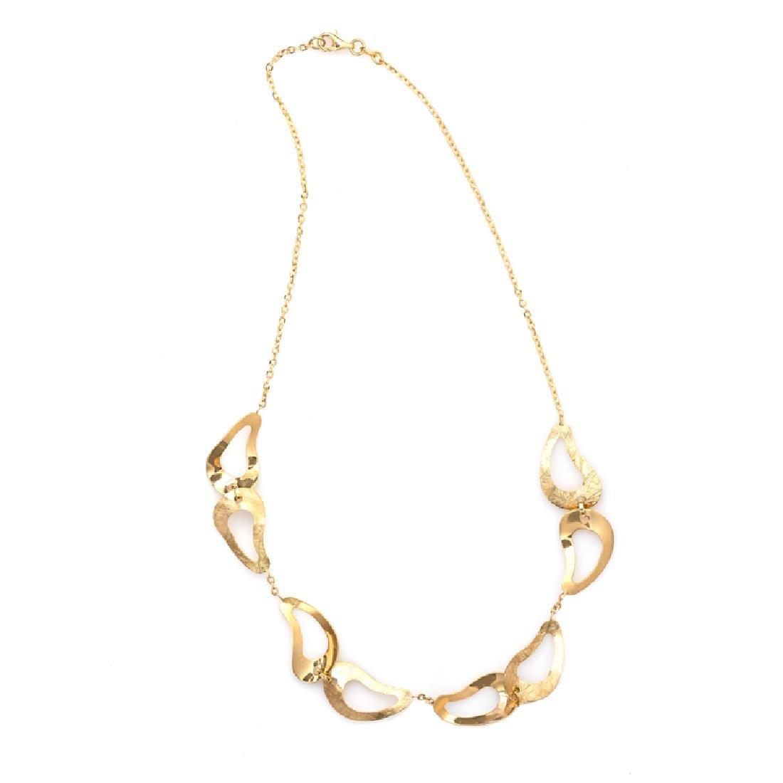 *Fine Jewelry 14KT Gold, Diamond Cut, Oval Link, 9.6GR.
