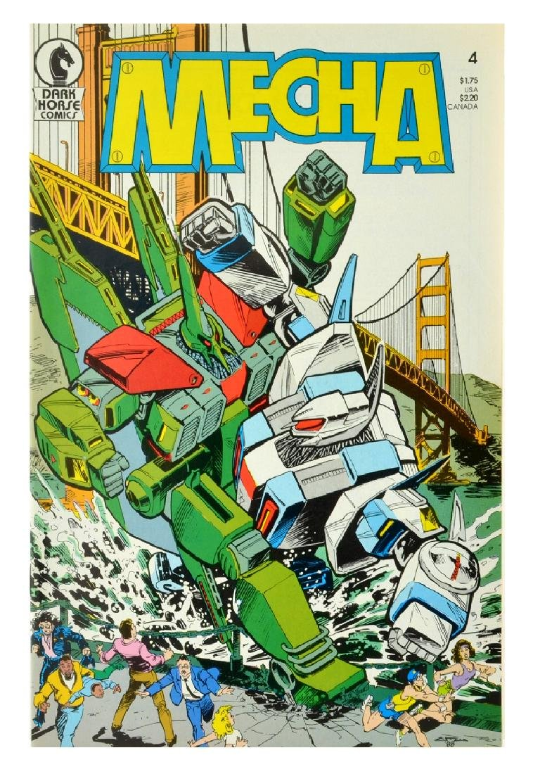 Mecha (1987) Issue 4