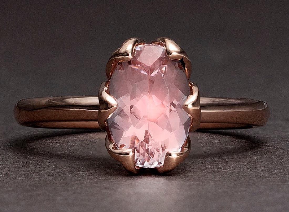 APP: 1.8k *Fine Jewelry 14 kt. Rose Gold, 1.75CT Oval