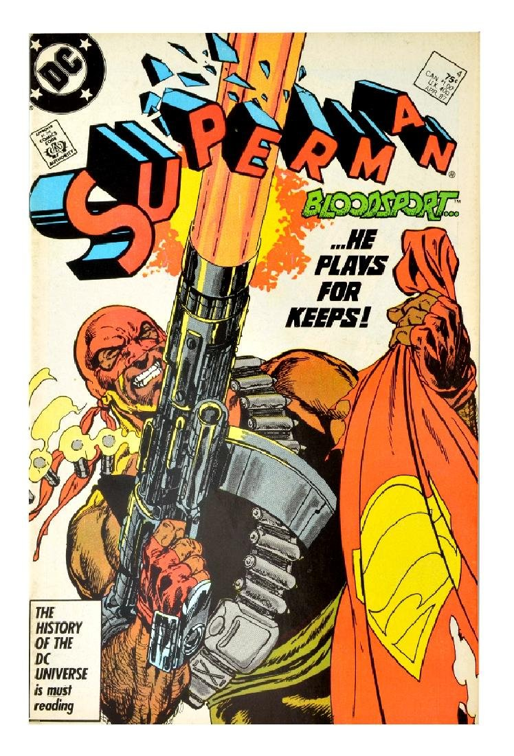 Superman (1987 2nd Series) Issue #4