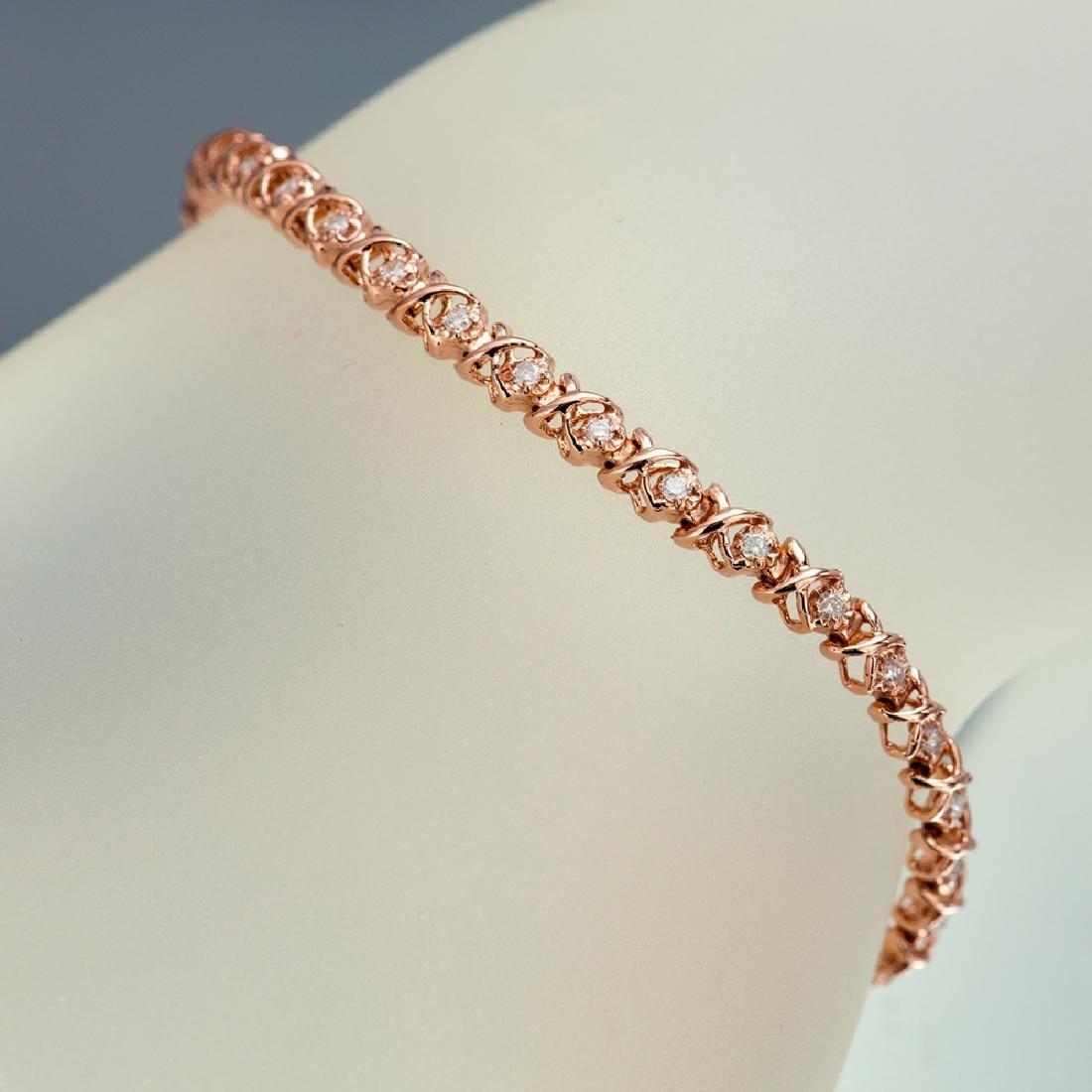 APP: 3.1k *Fine Jewelry 14KT Rose Gold, 0.55CT Round