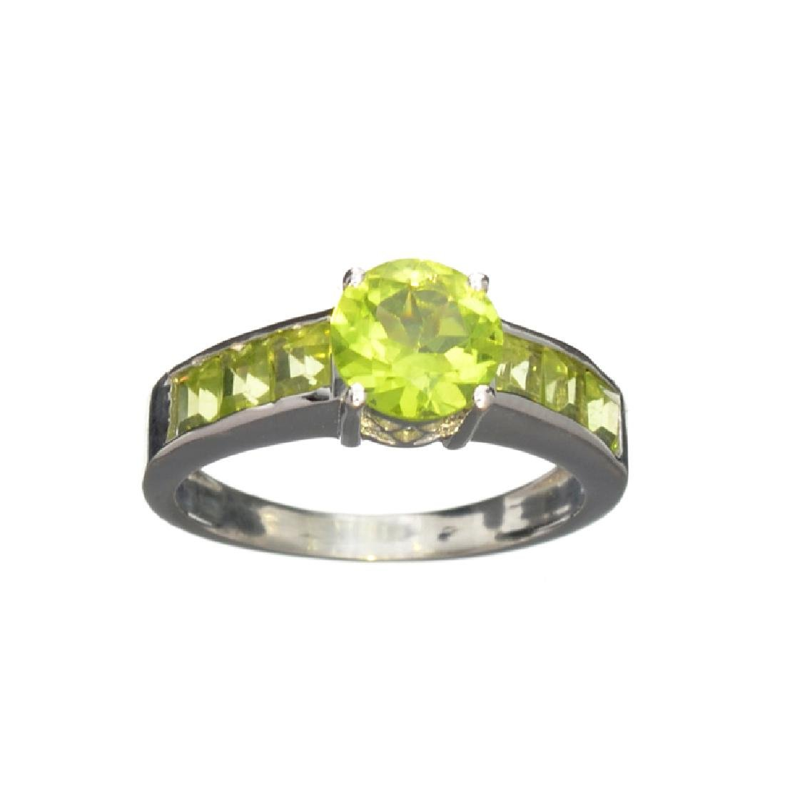 APP: 0.5k Fine Jewelry 2.60CT Peridot And Sterling