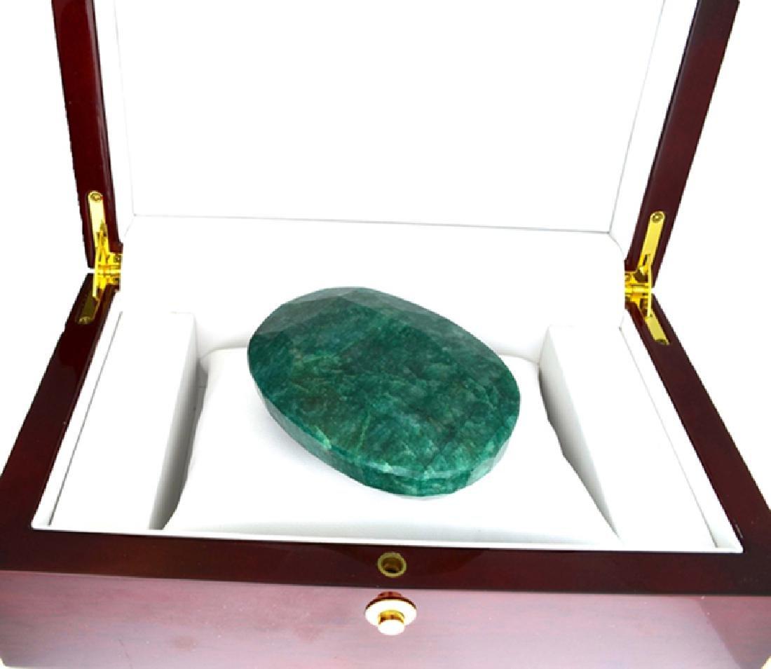 APP: 9k 1127.55CT Oval Cut Green Beryl Emerald Gemstone