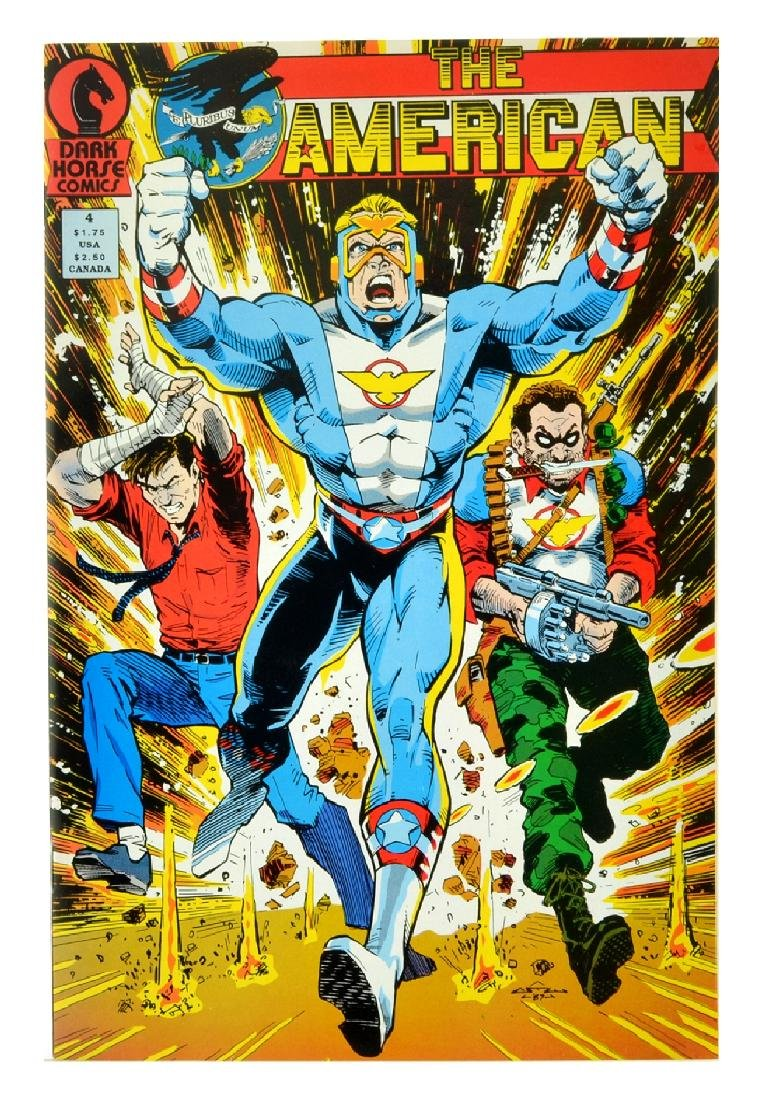 American (1987) Issue 4