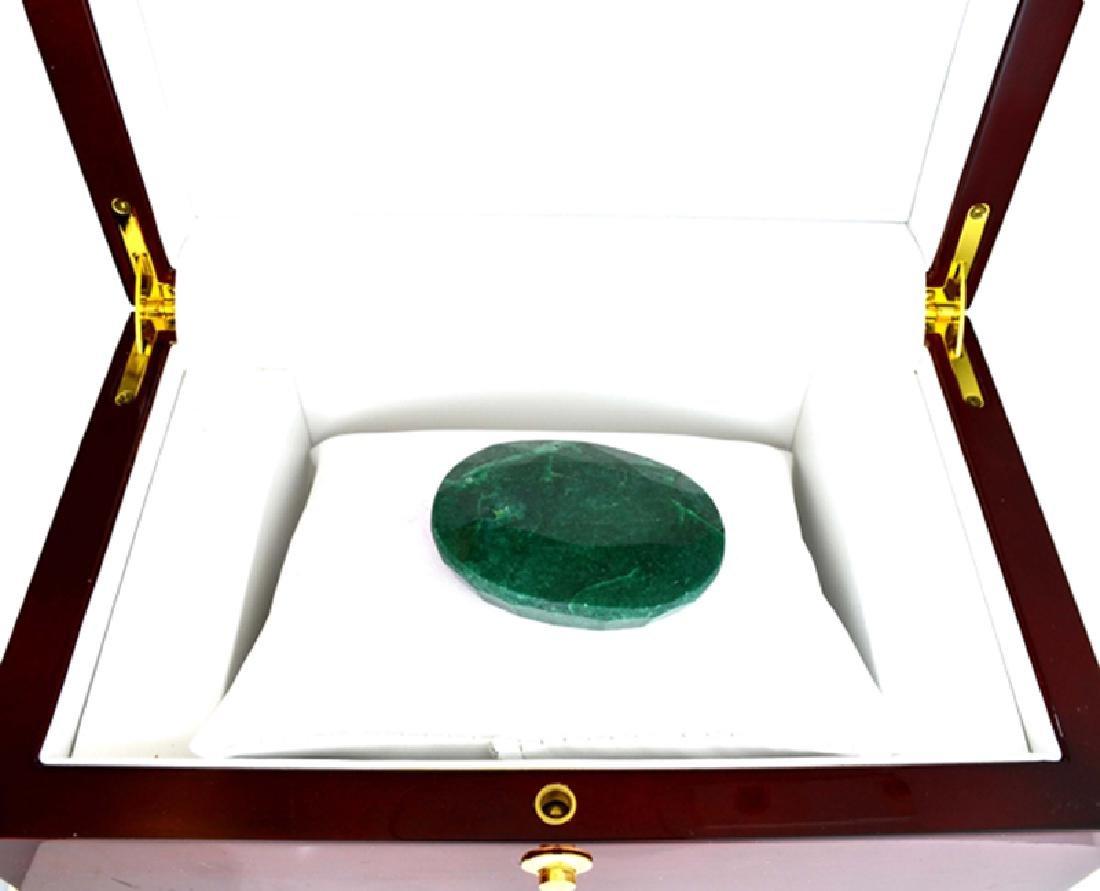 APP: 2k 267.50CT Oval Cut Green Beryl Emerald Gemstone
