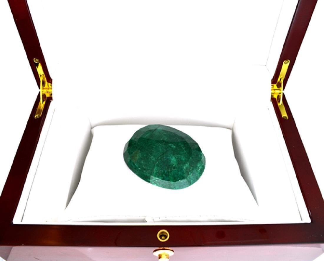 APP: 2k 267.50CT Oval Cut Green Beryl Emerald Gemstone - 2
