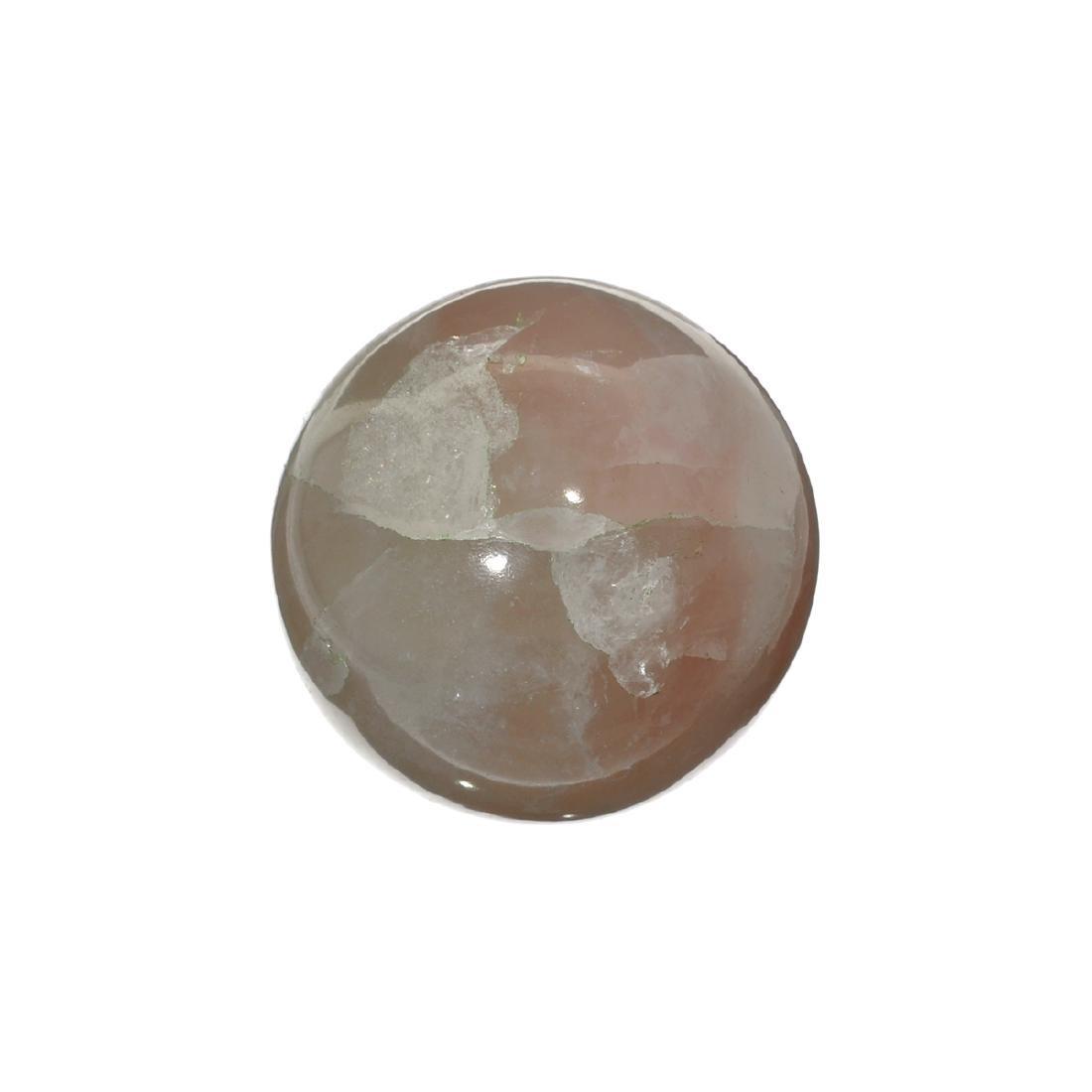 APP: 1k Rare 1,084.30CT Sphere Cut Rose Quartz Gemstone